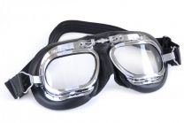 Halcyon Eyewear - Mk410 Leather Scooter Goggles