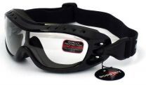 Bobster Eyewear - OTG Night Hawk Goggles - Clear Lenses