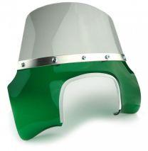 Lambretta Flyscreen - Transparent Green GP Mod