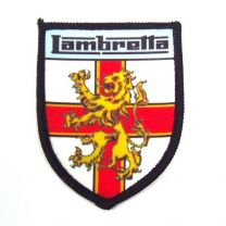 Lambretta George Cross Shield Sew on Badge