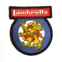 Lambretta Mod Target Lion - Sew on Patch