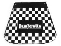 Lambretta Mudflap - Black Chequered