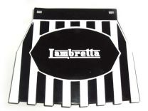 Lambretta Mudflap - Black Striped