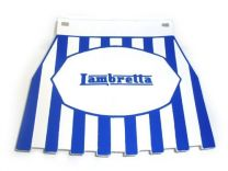 Lambretta Mudflap - Blue Striped