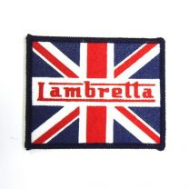 Lambretta Union Jack Sew on Badge