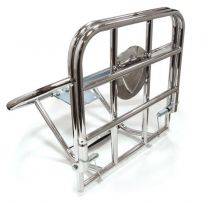 Rear Folding Carrier And Spare Wheel Carrier - Chrome