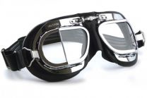 Halcyon Eyewear - Mk49 Leather Scooter Goggles
