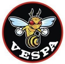 Vespa Wasp Sew on Badge