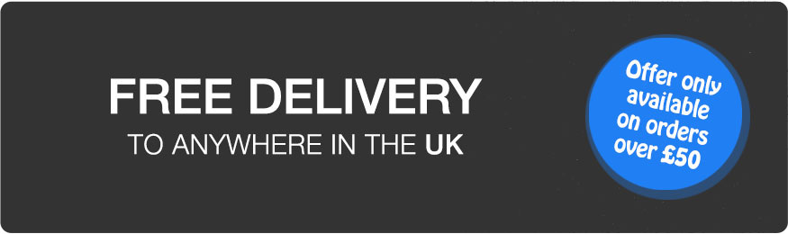 Free Delivery on orders over £50