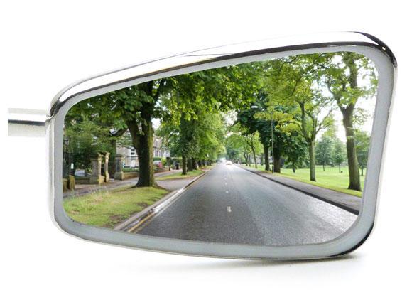Convex Mirror Glass